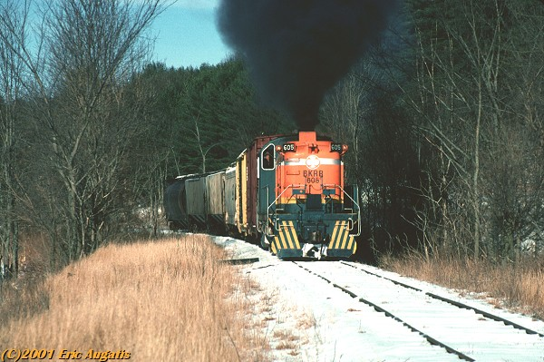 BKRR 605 at Pooches Crossing, NY January 1999.