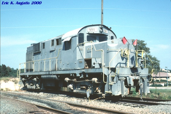 MMAX 5011 at Junction City, GA in October, 2000. (Photo by Eric Augatis)