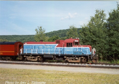 TIOC RS3m 506 at Wellsboro, PA 08-08-01 (Photo by Amy L. Valentine)